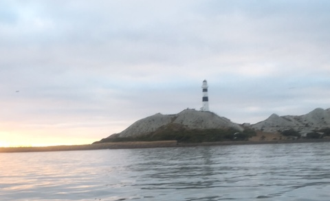 Reds favourite, a lighthouse at dawn