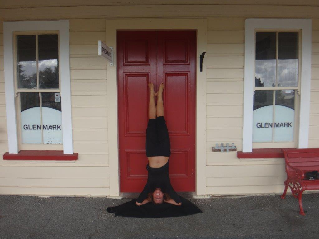 Headstands paying off