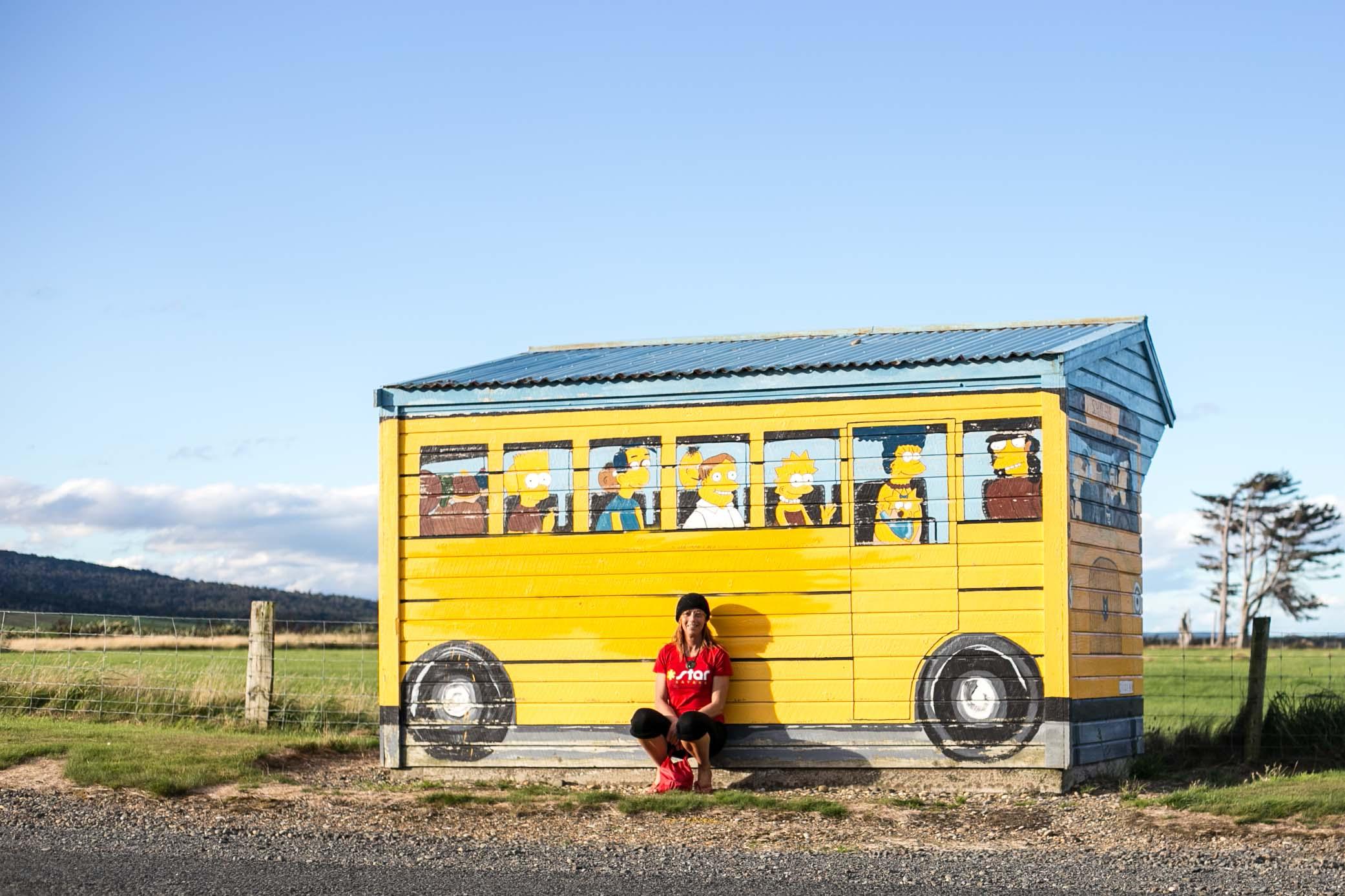 Simpsons school bus