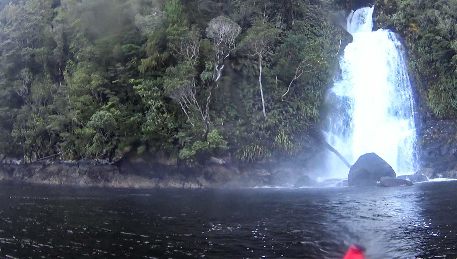 Washing Waterfall