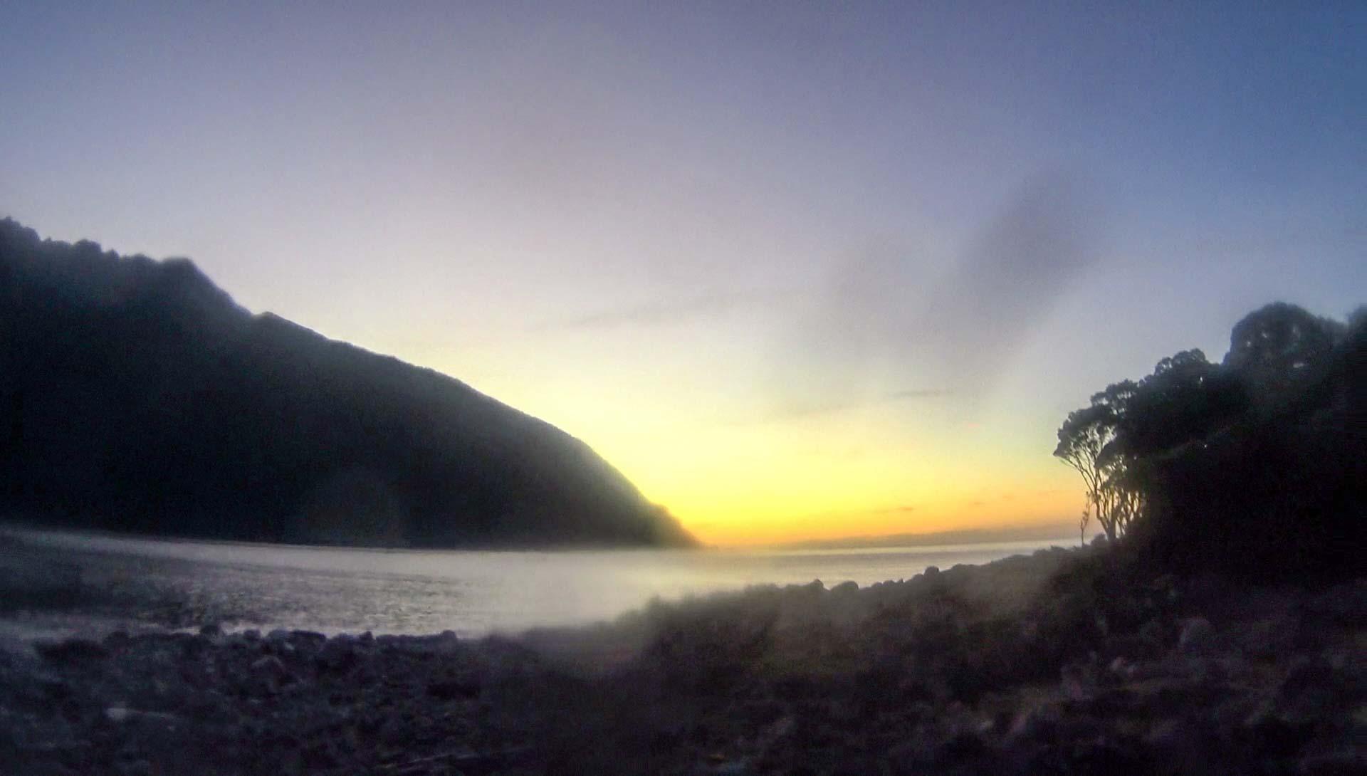 Sunset at Bligh Sound