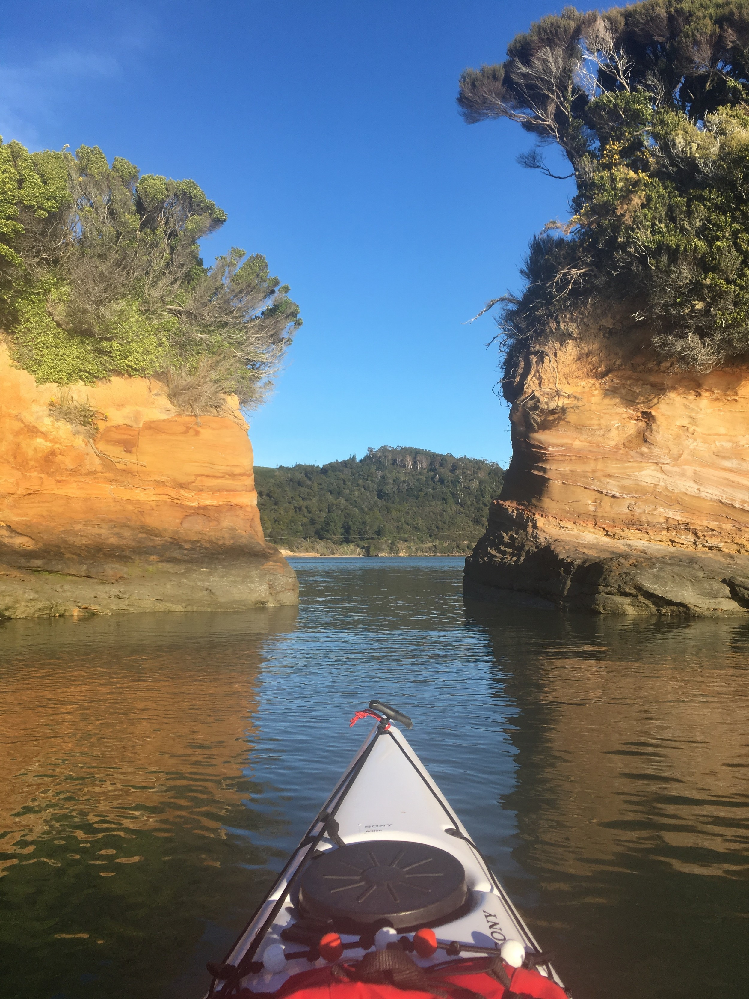 Today's paddling on the water.