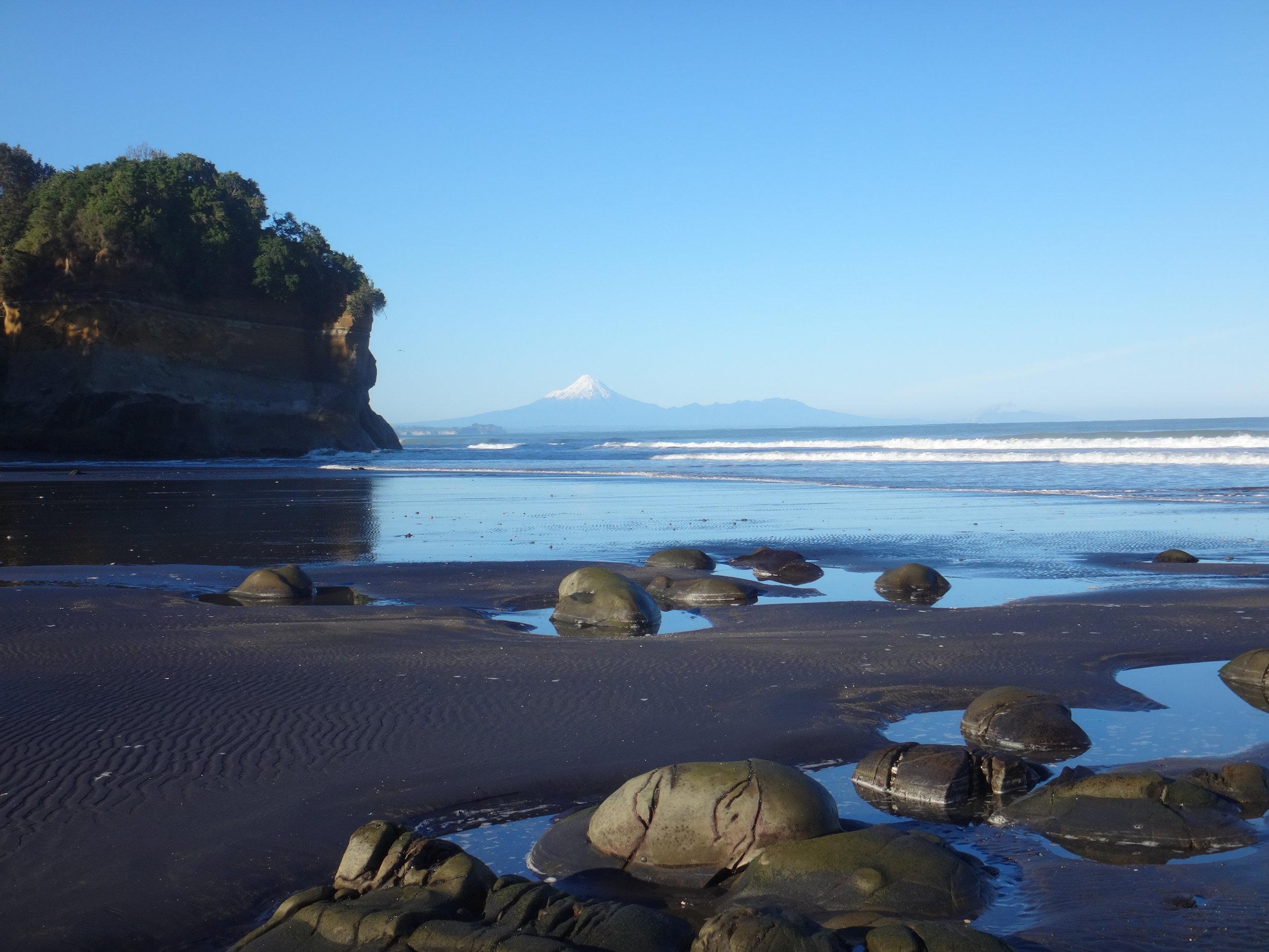 Blue-bird day at Rapanui Stream.