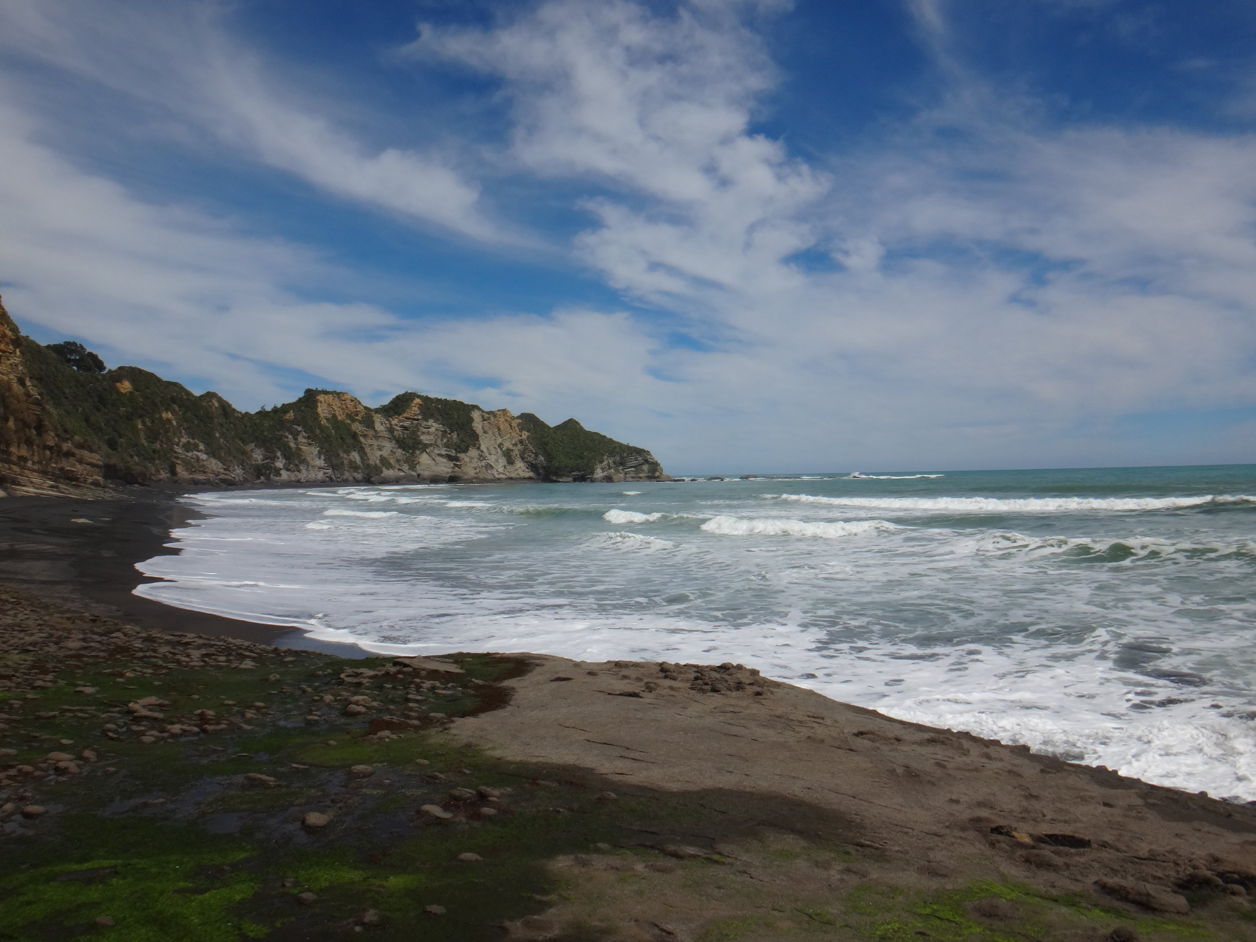 Incredible coastline of Taranaki.