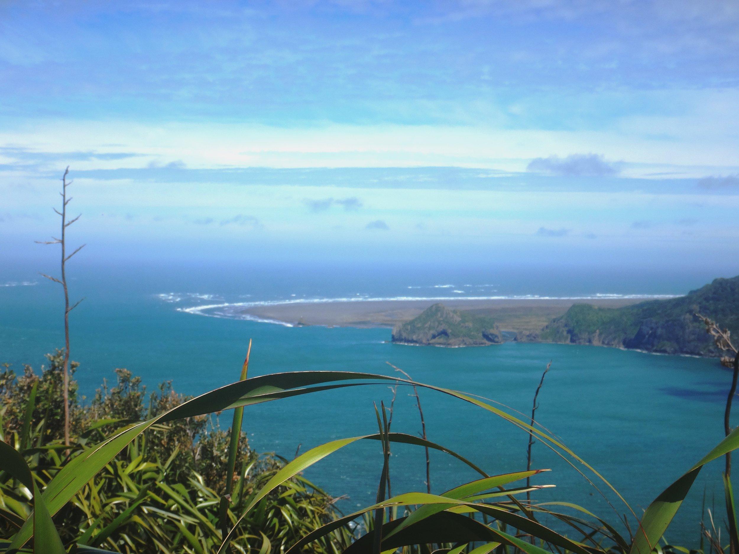Manukau Heads ocean view.