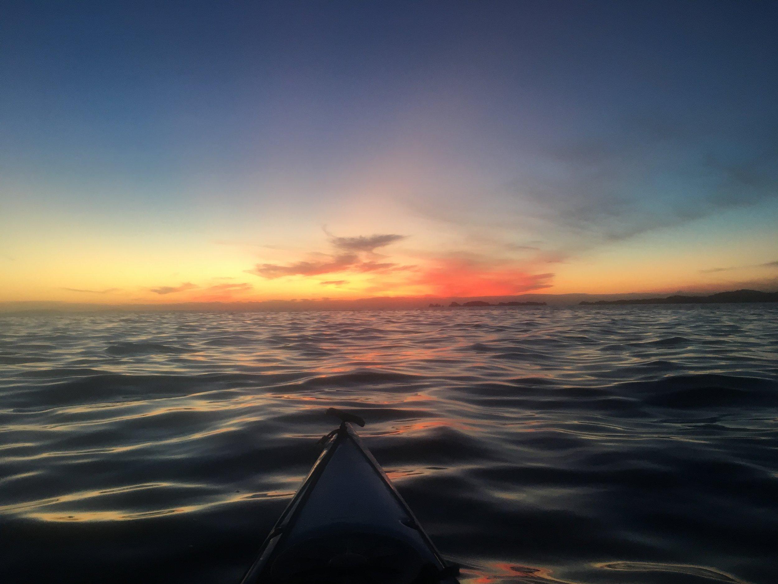 My morning sunrise.
