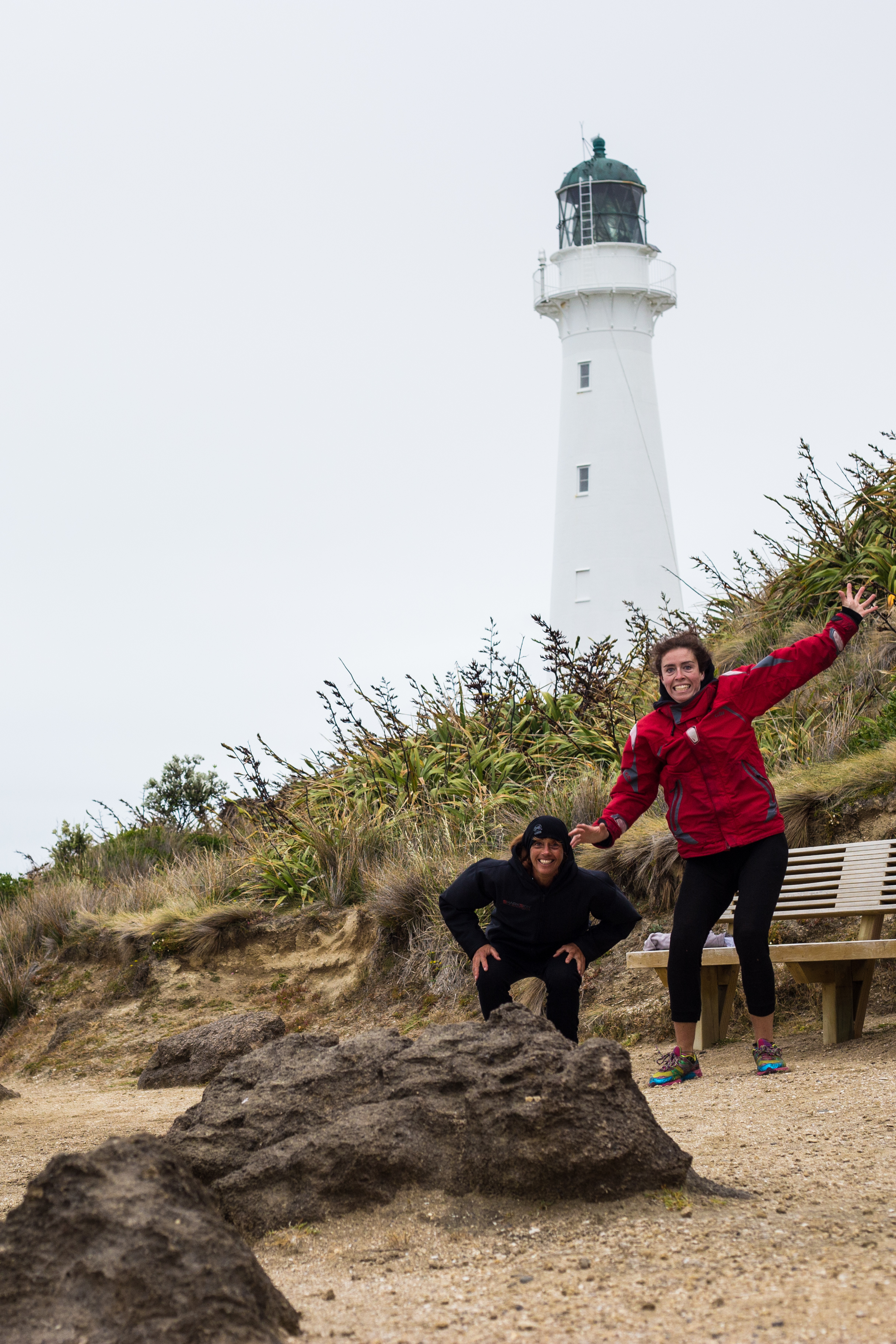 Crazy winds & Crazy fun times with Nat- Castle Point