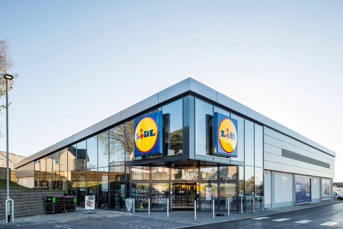 New Lidl Store, Hamilton  click on thumbnails to view larger images