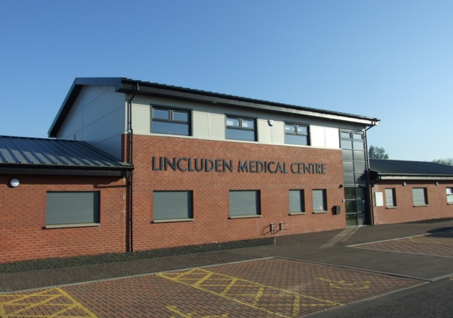 New Medical Centre, Uddingston  click on thumbnails to view larger images