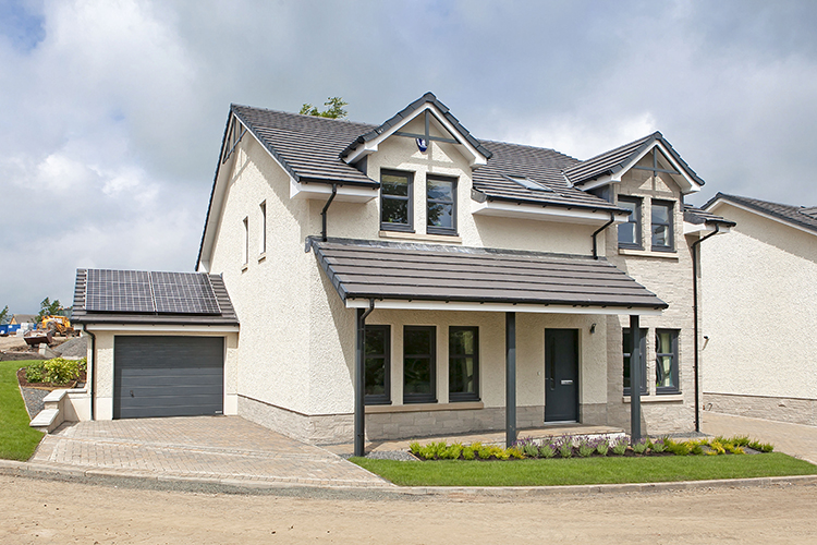 Jackton View, East Kilbride  click on thumbnails to view larger images