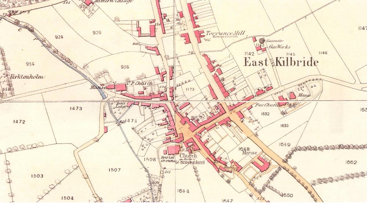 Historic Map East Kilbride Village.jpg