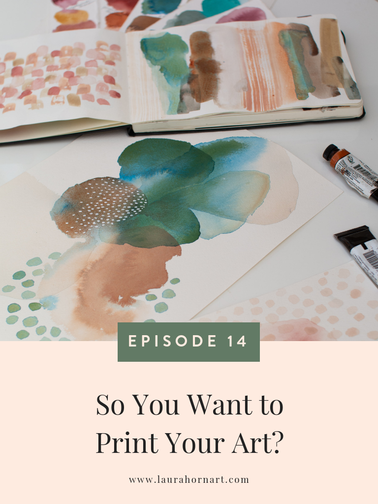 so you want to print your art