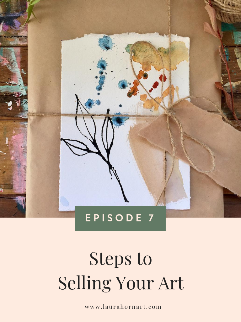 steps to selling your art