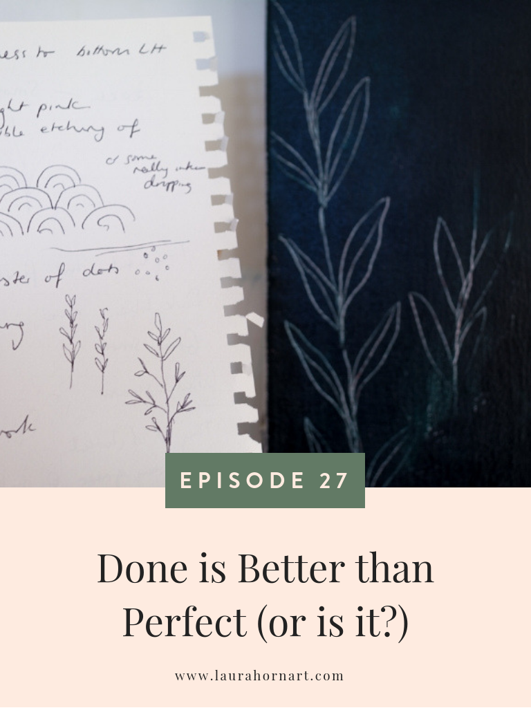 Done is Better than Perfect (or is it)