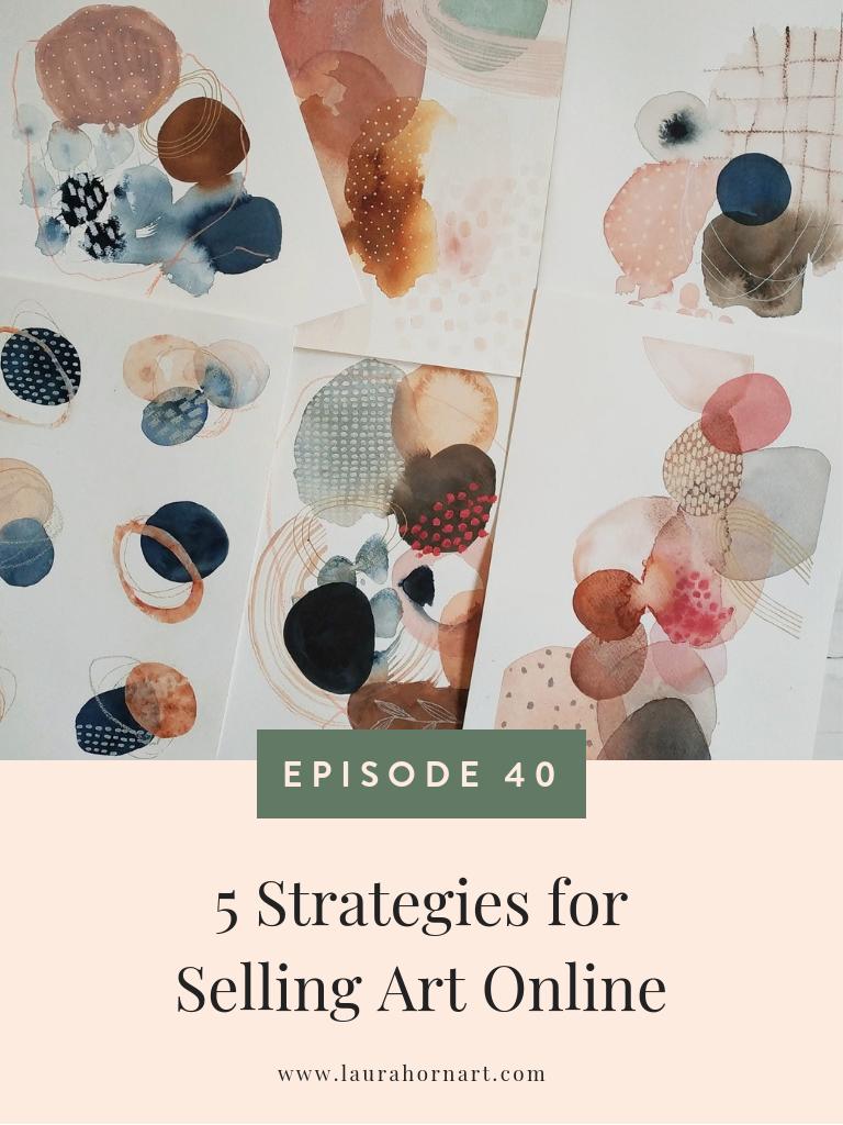 5 Strategies for Selling Art Online