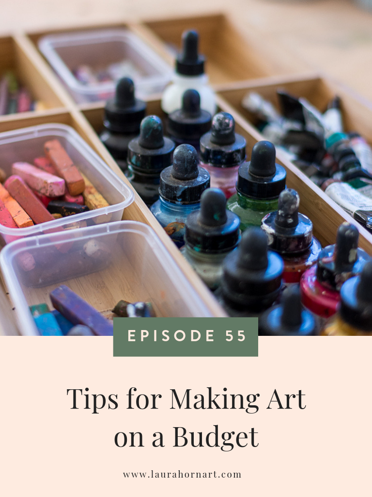 Tips for Making Art on a Budget