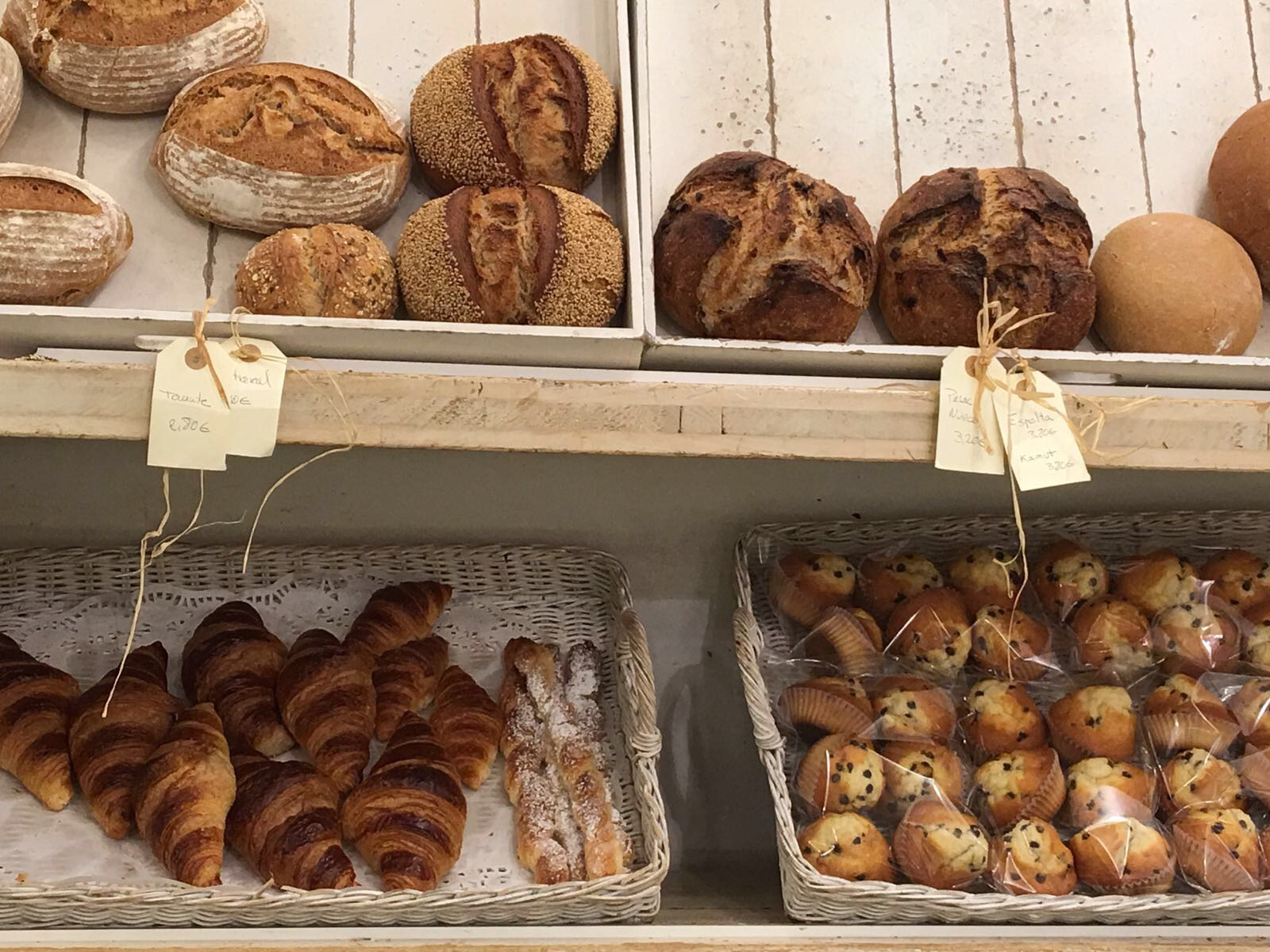 Additive and colour free bakery