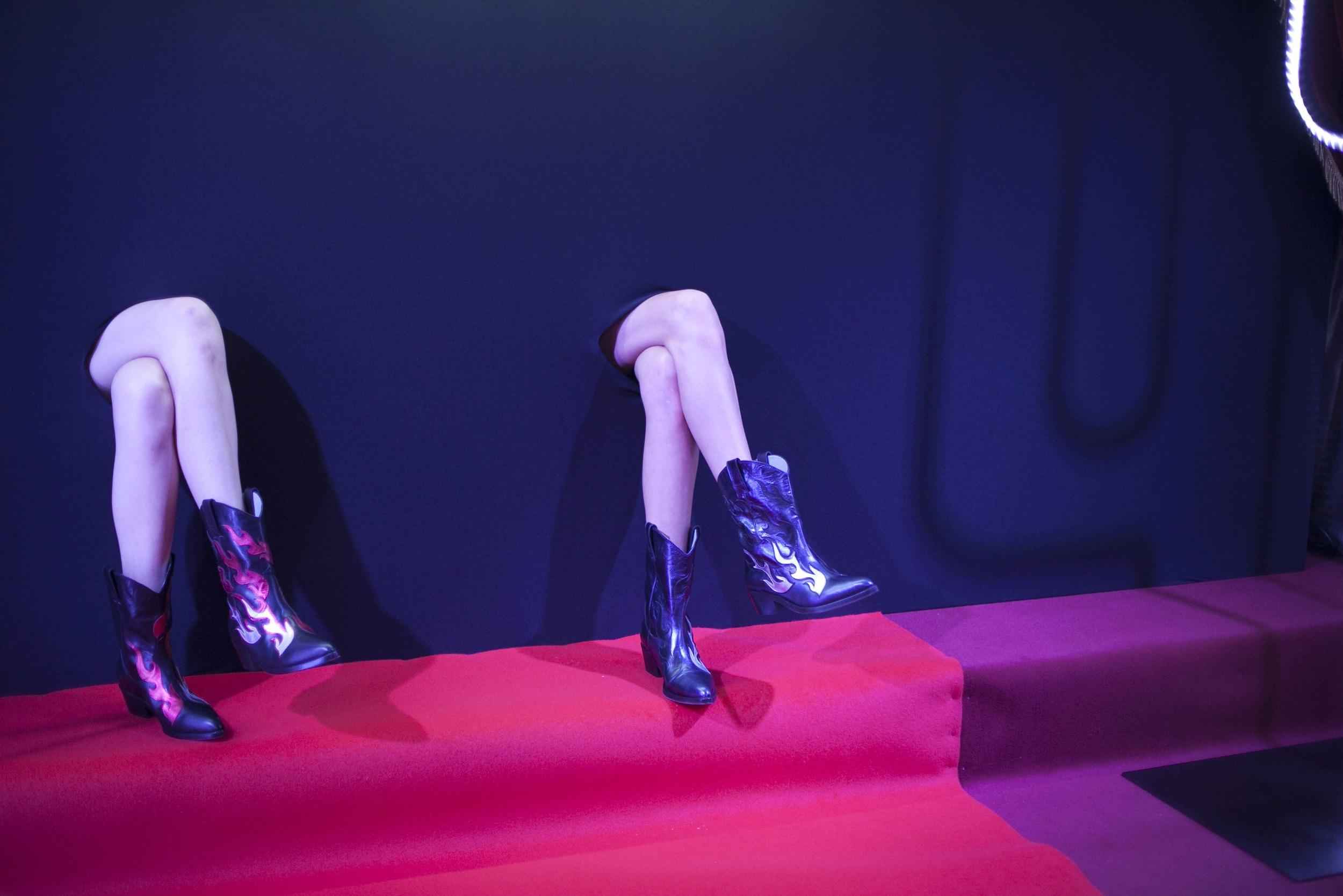 Camperos boot - Chiara Ferragni