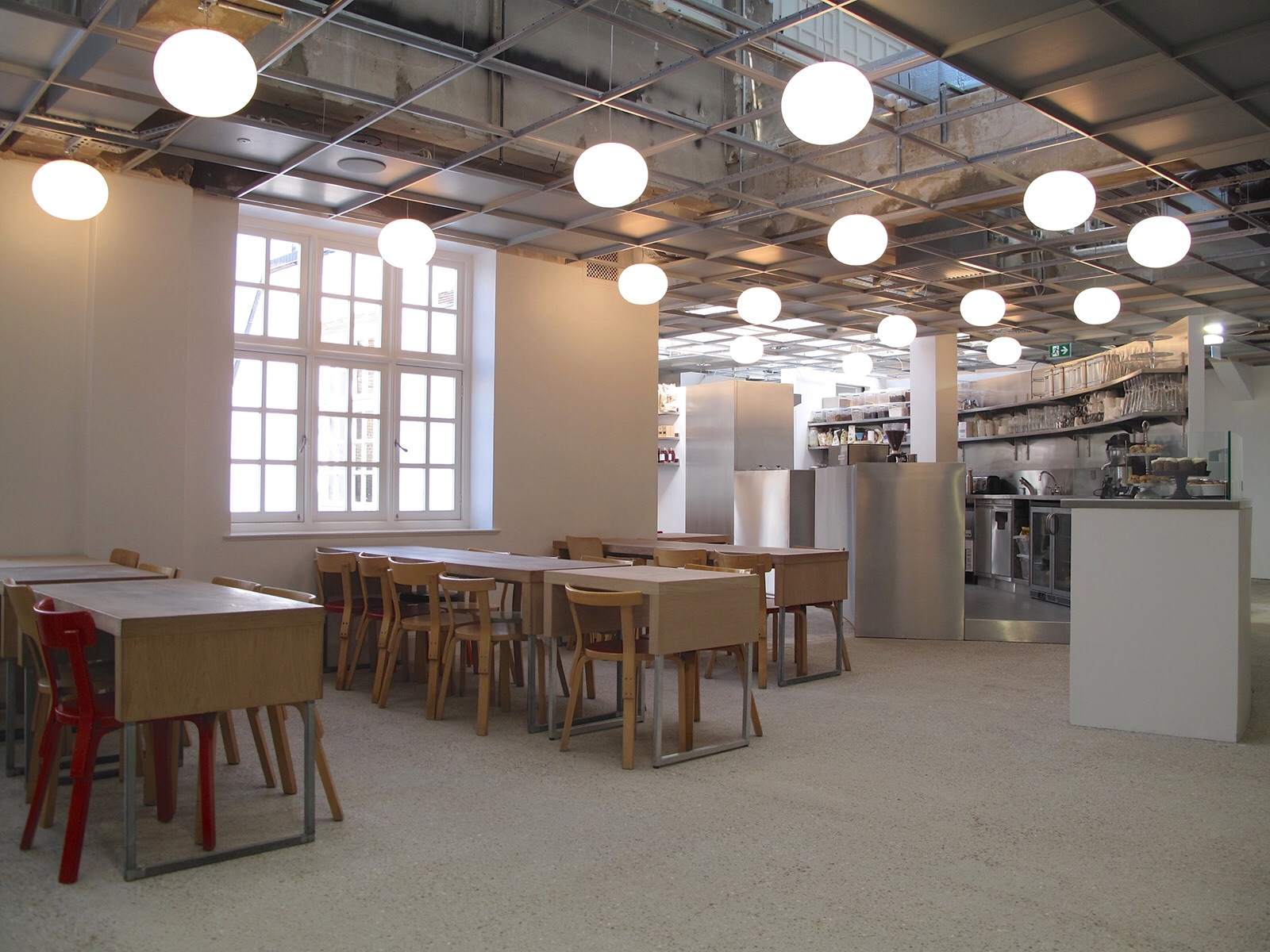 The new Rose Bakery space