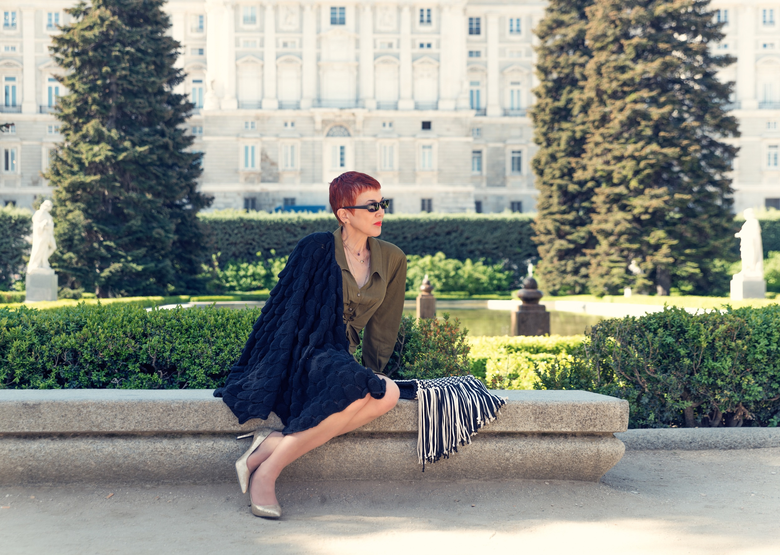 The Splendid Sabatini gardens - Madrid