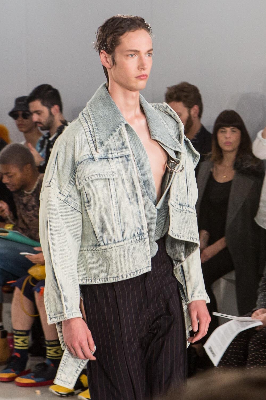 Oversized denim jacket - Ximon Lee