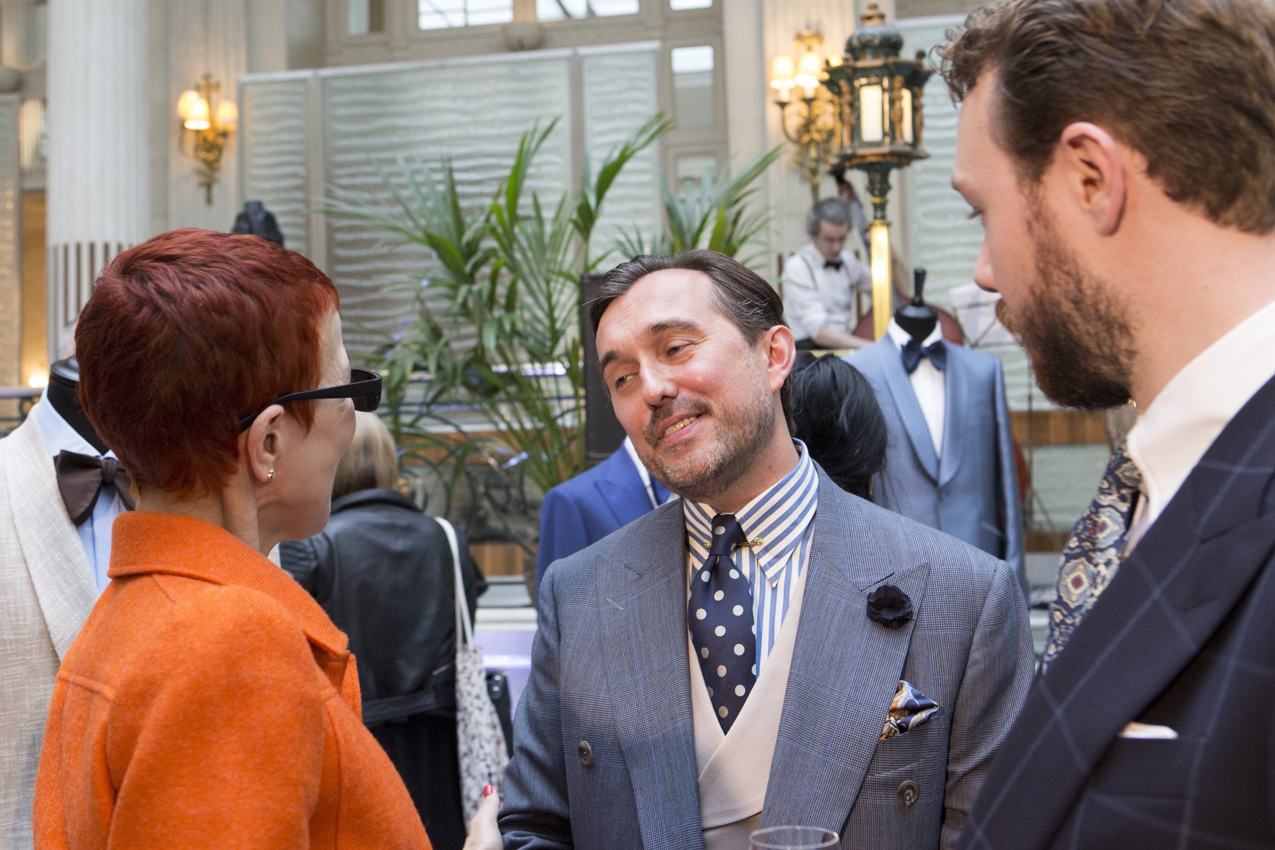 Chester Barrie's creative and buying manager Christopher Modoo
