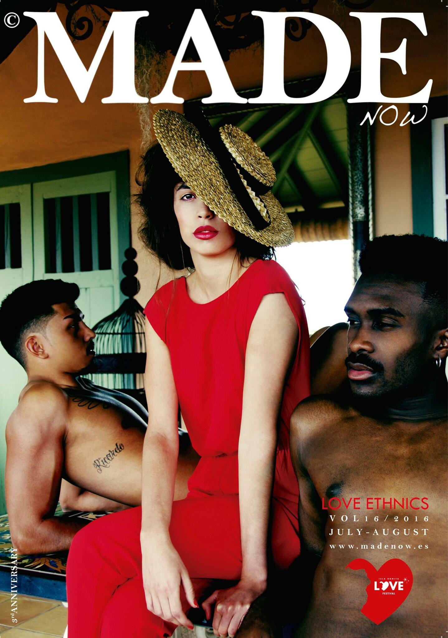 Made Now Magazine - at the Isla Bonita Love festival.