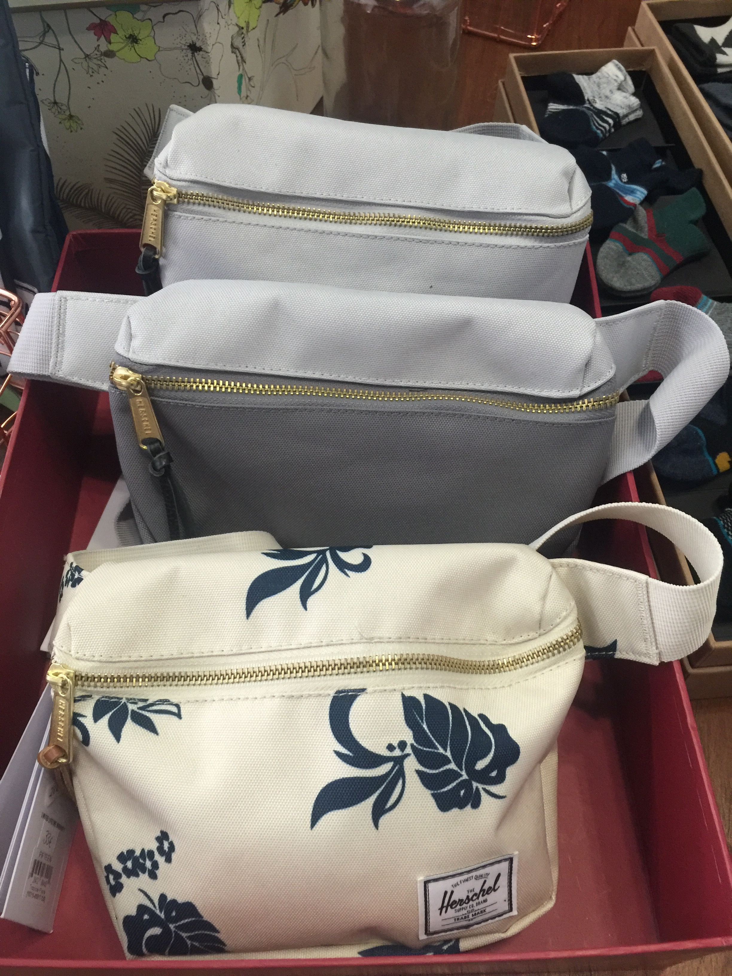 Bum bags a variety at The Concept Boutique and Coffee