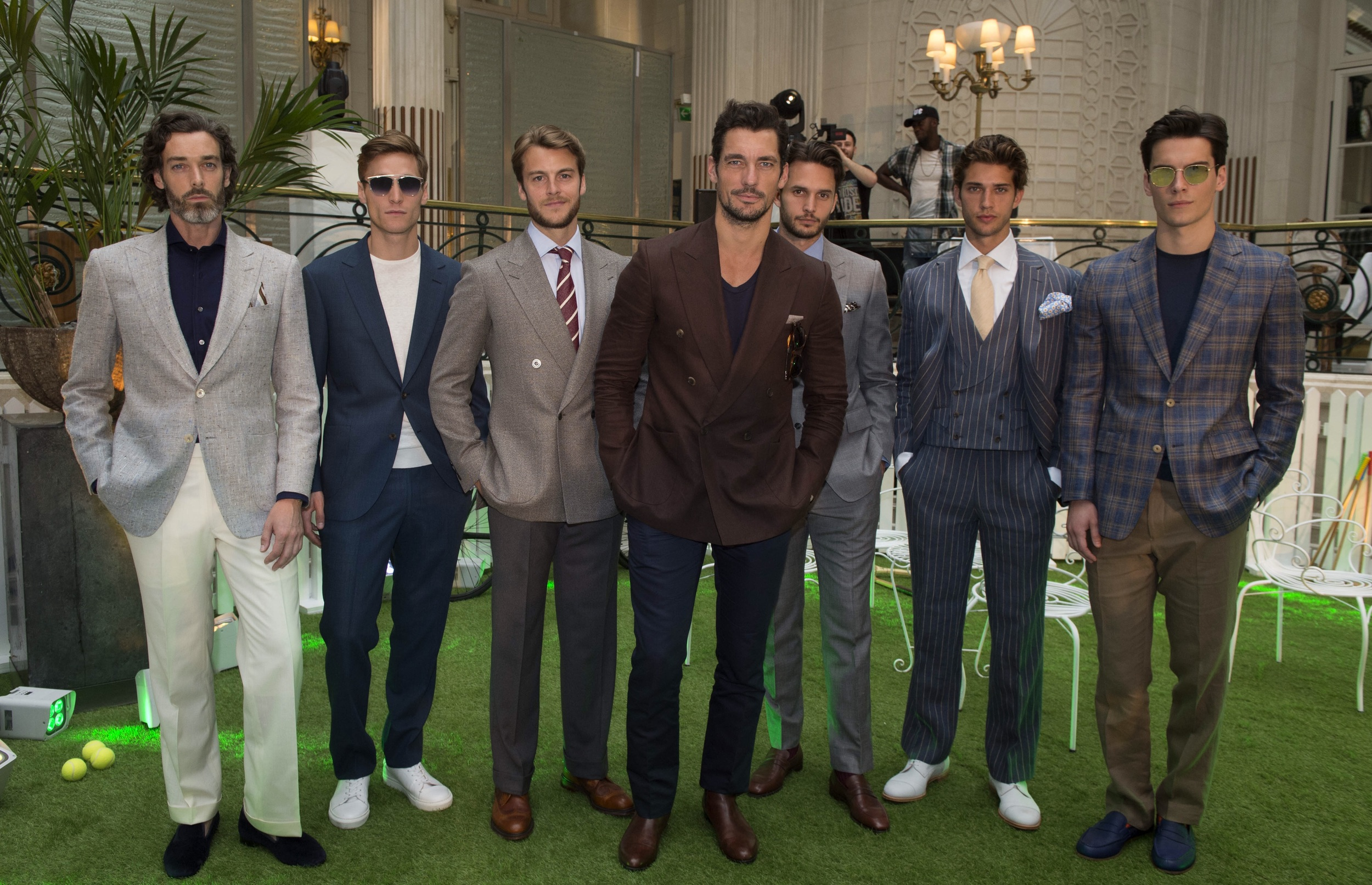 David Gandy - the perfect example of how to work a traditional jacket.