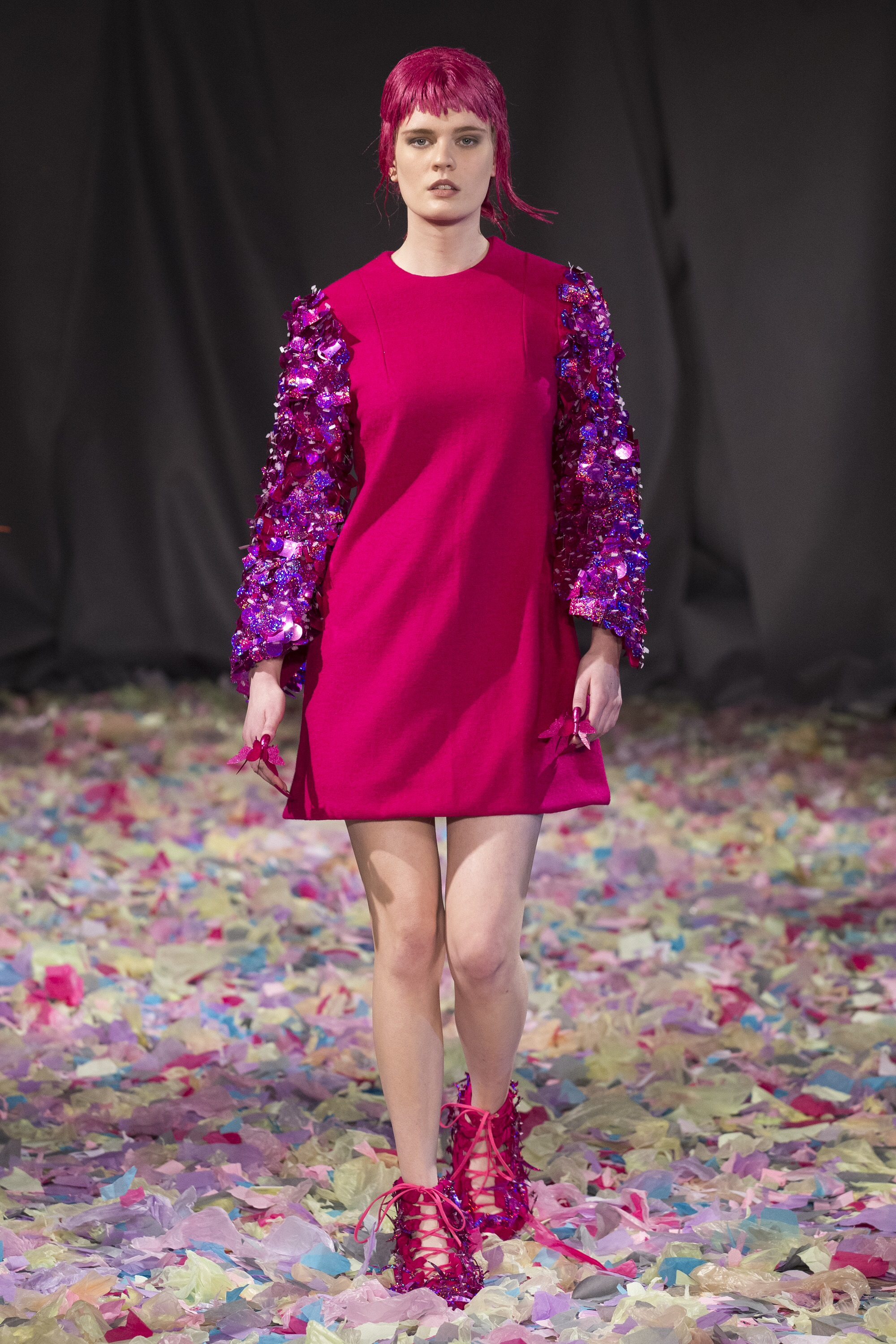 Embellished with sequins - Vin and Omi