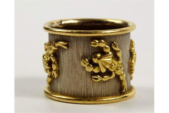 Elizabeth Gage Zodiac ring