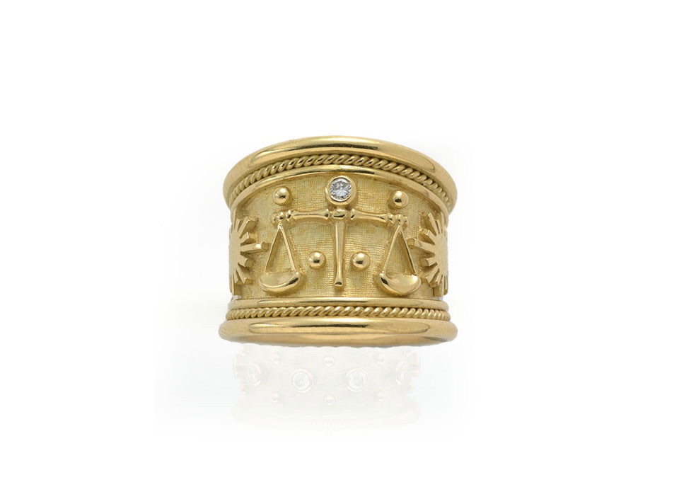 Elizabeth Gage - Templar rings
