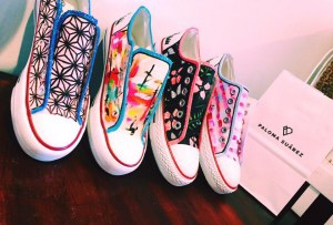 Fun painted shoes for Summer