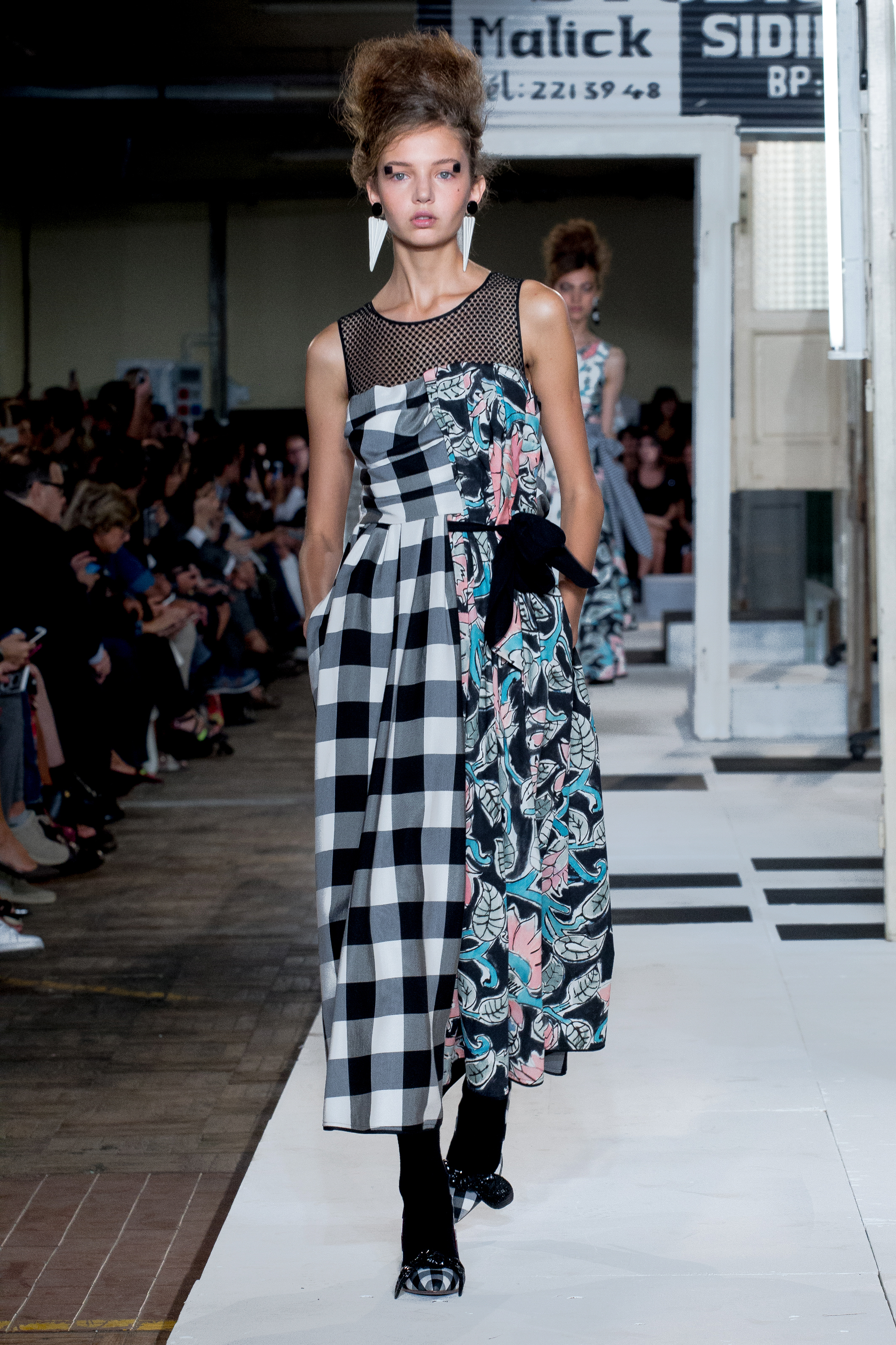 Black and white gingham with shoes by Antonio Marras -