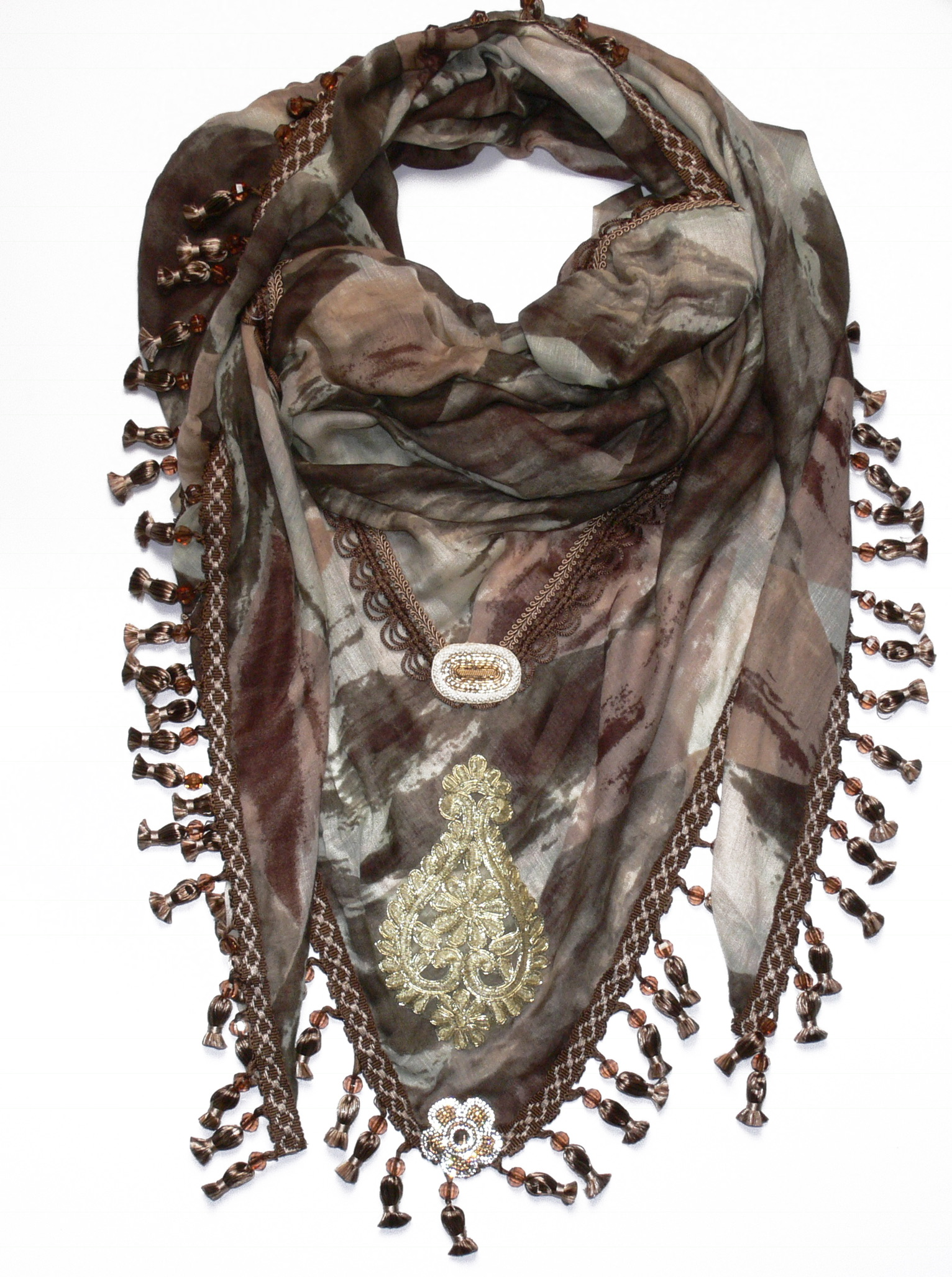 One of LaMotto scarves.