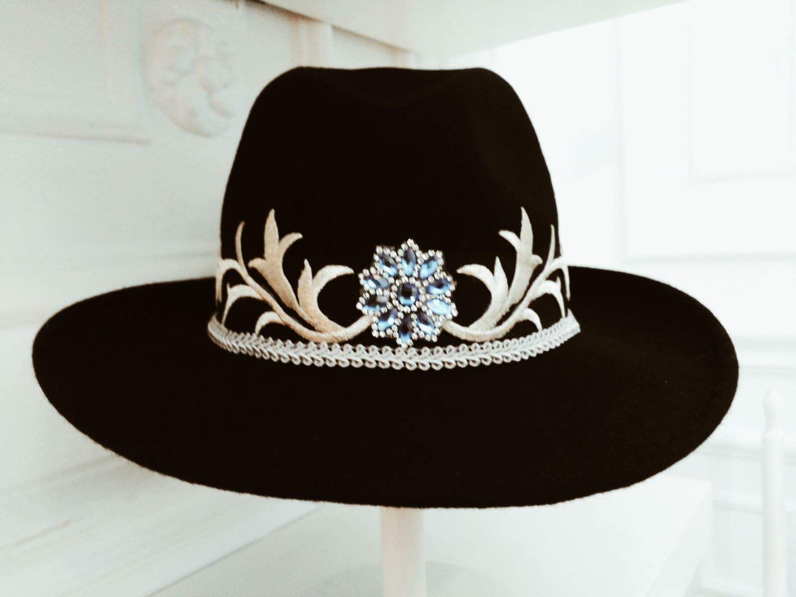Felt hats at LaMotto