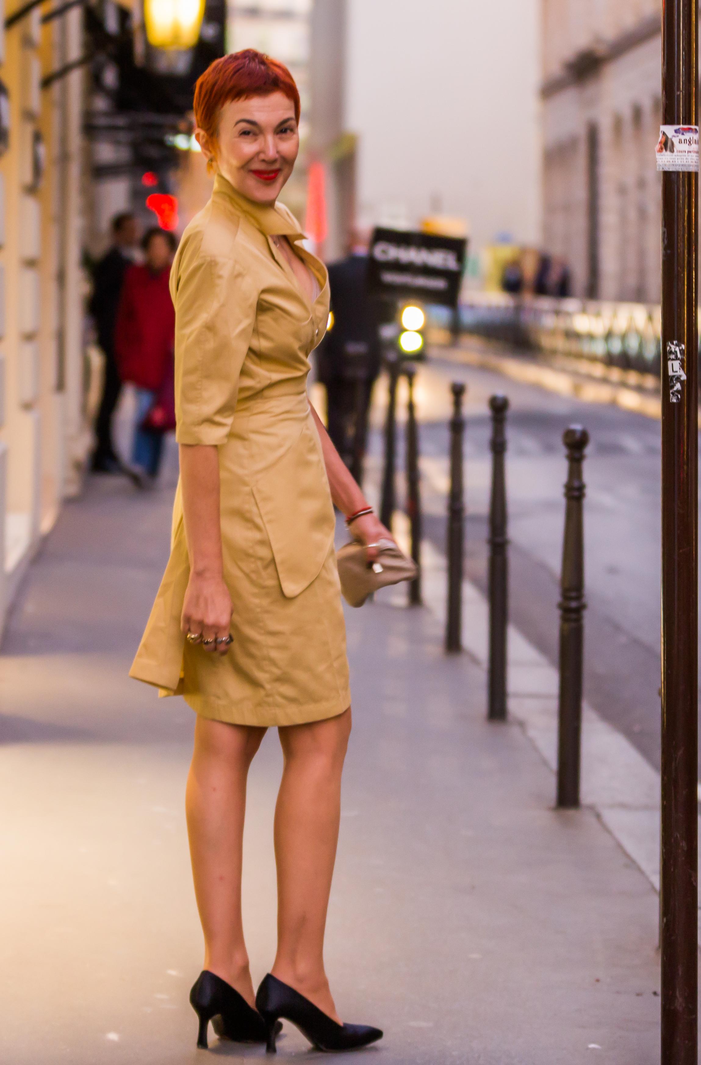 Paris shopping in Thierry Mugler