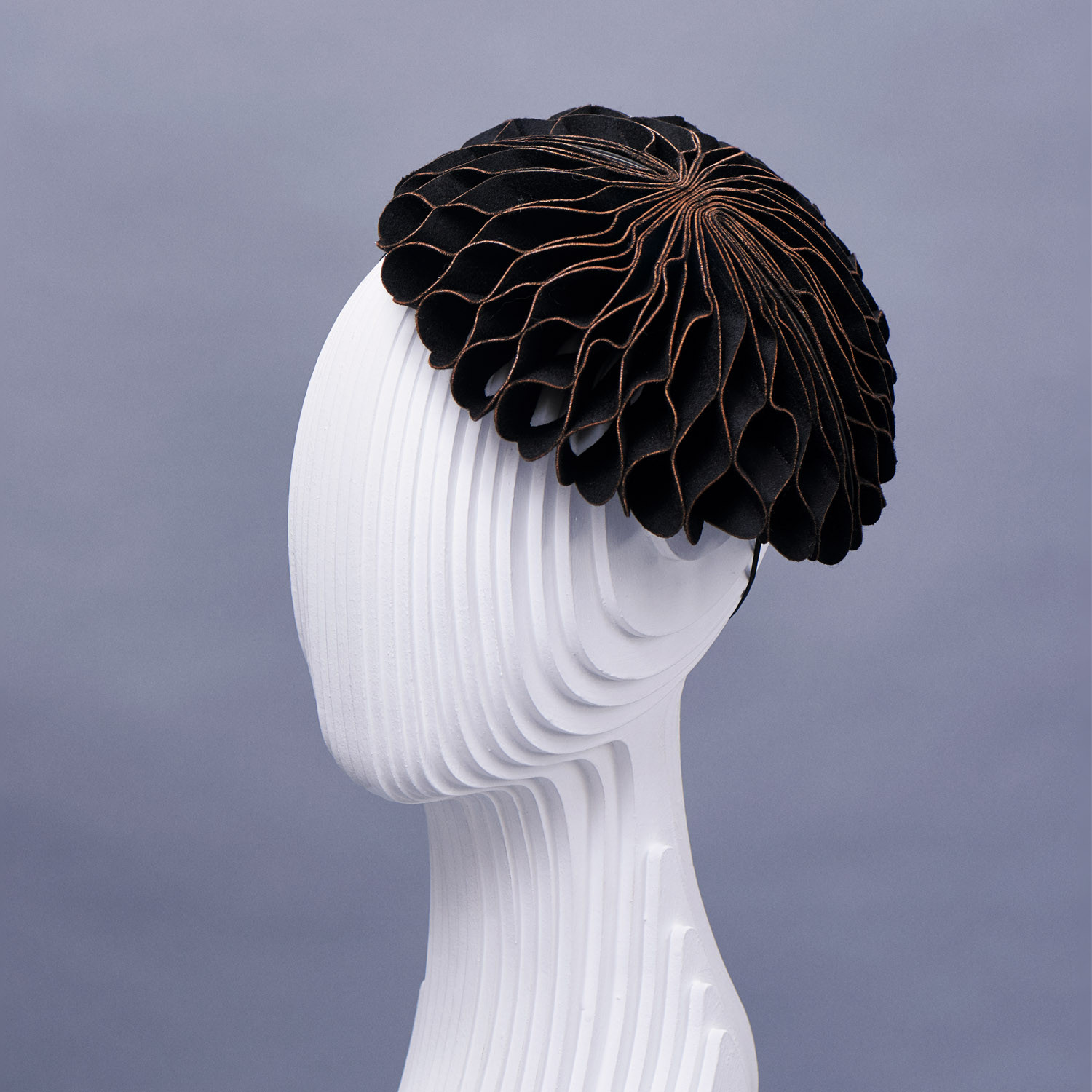 The Hortensia the most popular foldaway hat.