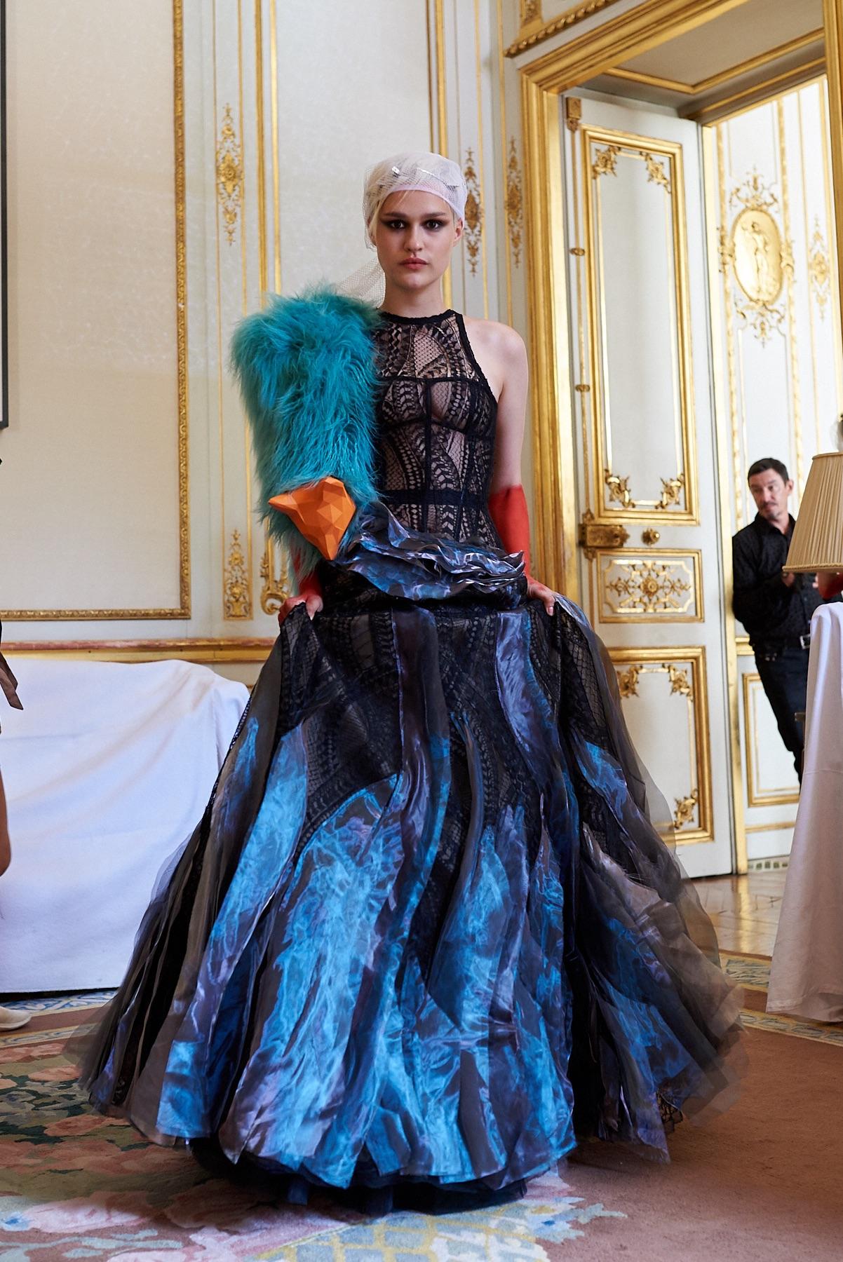 Antonio Ortega Couture - Backstage - Foto @vincewll