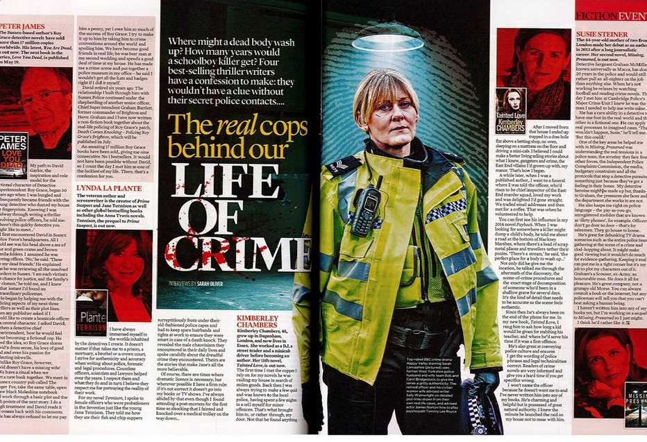 How to solve crime - in real life and in fiction, the mail on sunday