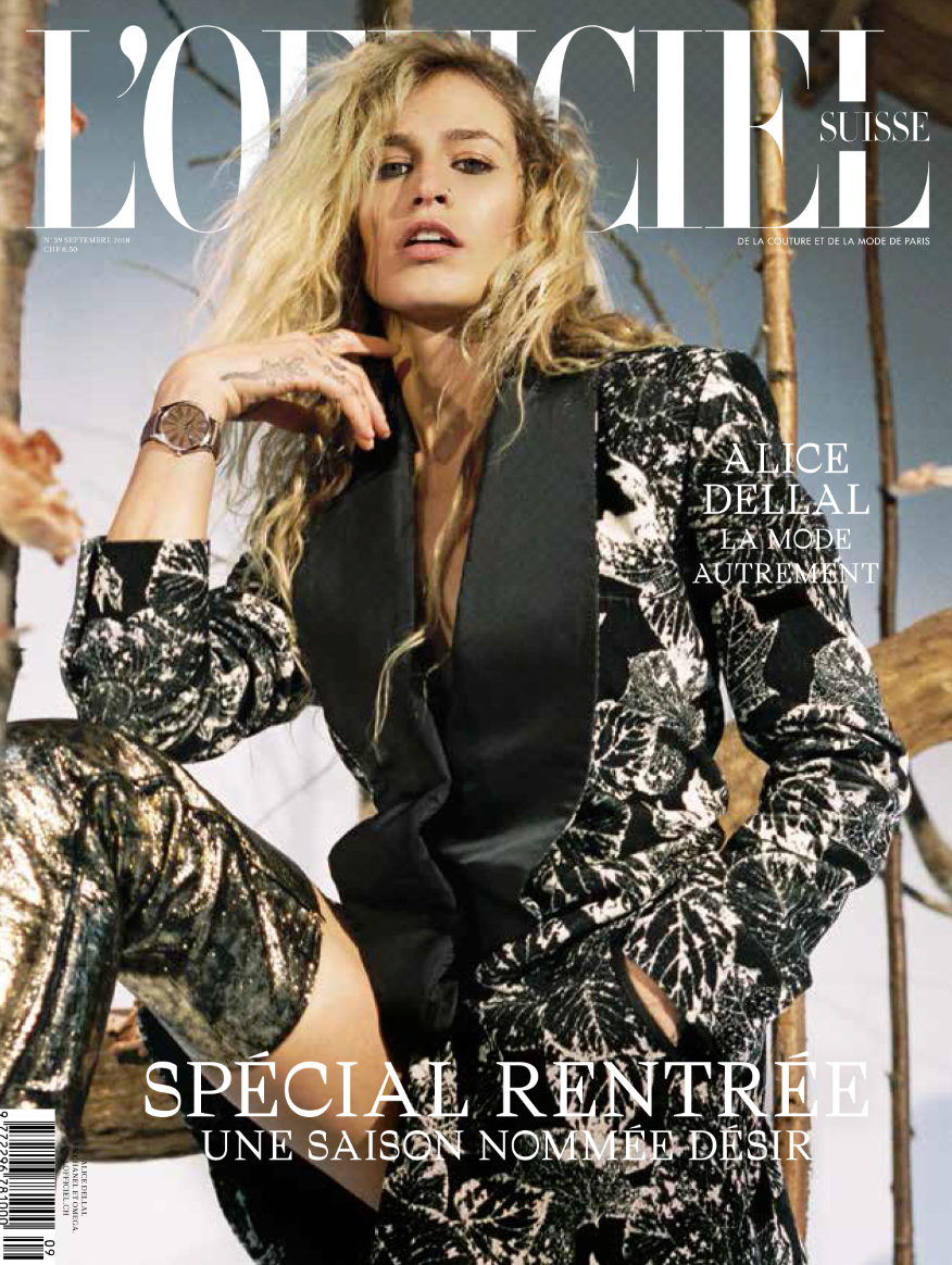 L'OFFICIEL SWITZERLAND . ALICE DELLAL