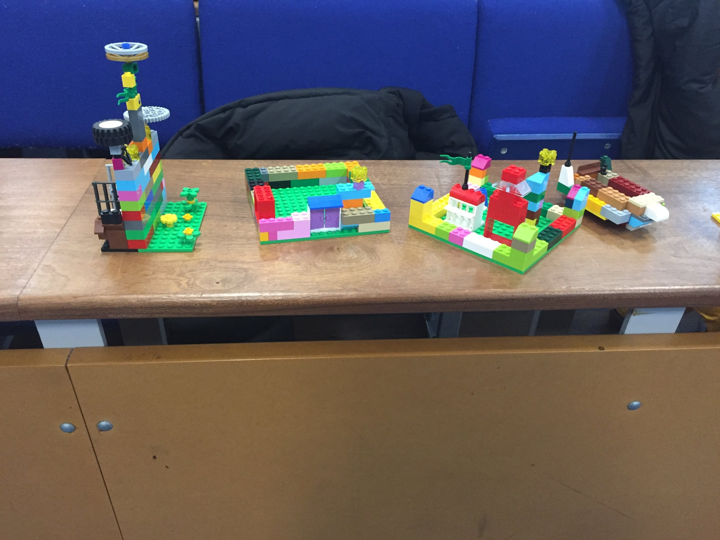 Some more lego models bult by the second years.