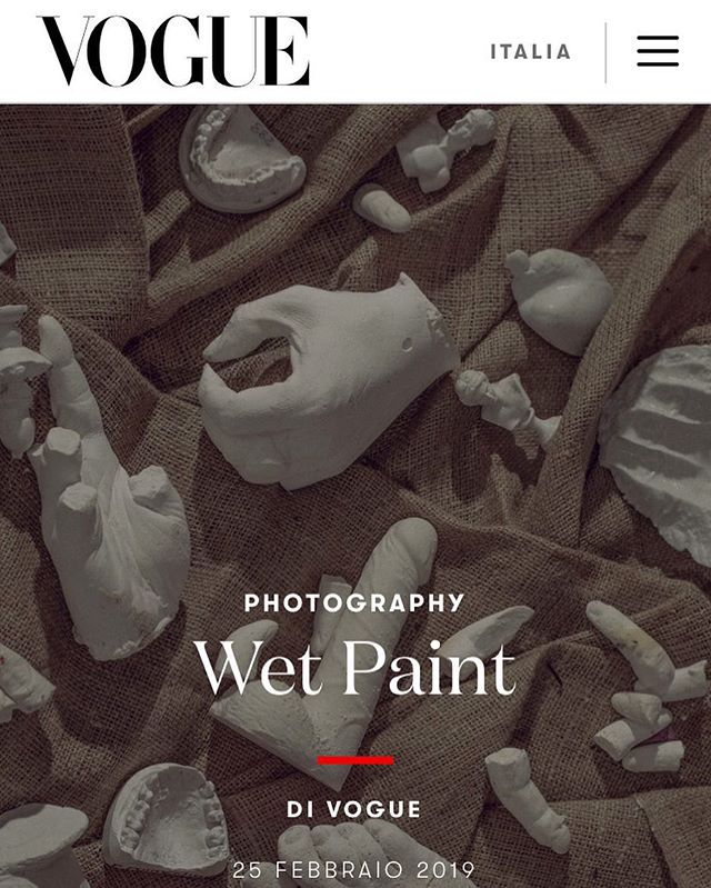 So very excited to see our latest series Wet Paint up on @vogueitalia xx Q&A with @chiaranonino 💕 xx link in bio xx 🙏🏾🙏🏾🙏🏾🙏🏾 @chiaranonino xx a special thanks to @lukeylah , @panayiotis_poimenidis , @aaronwhitty , @missalejandramunoz @jackjamesbaxter  for their time and beauty in working on this project xx