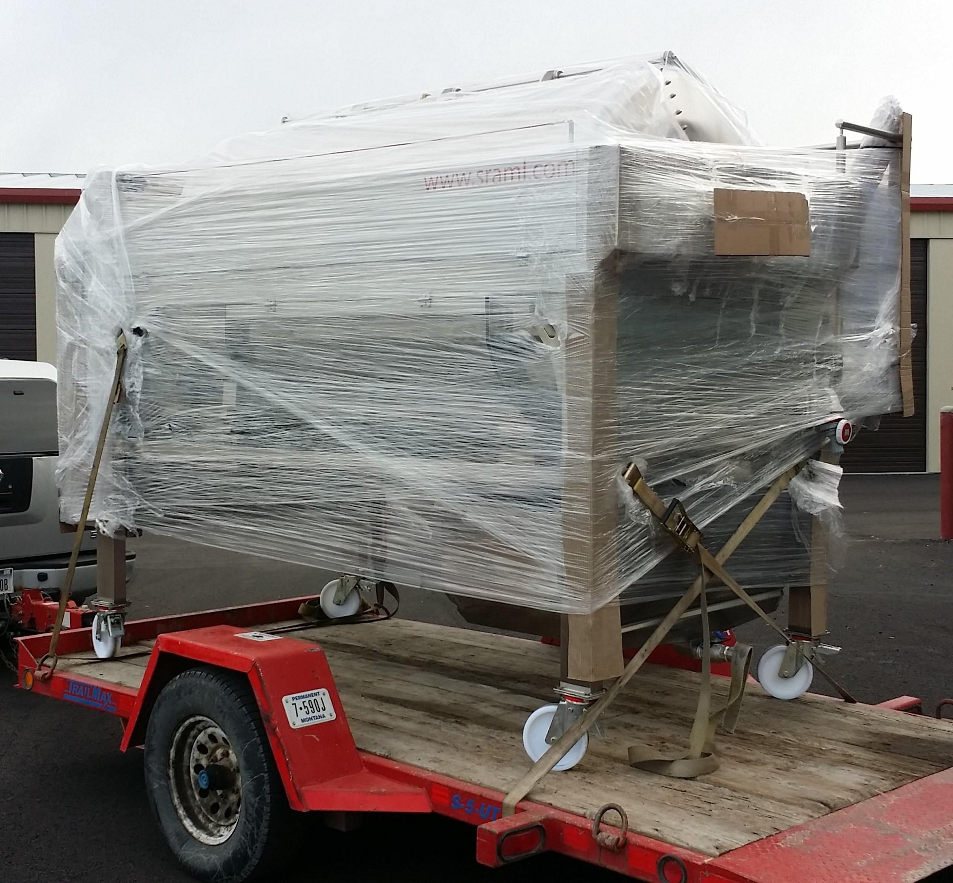 2000 liter pneumatic press