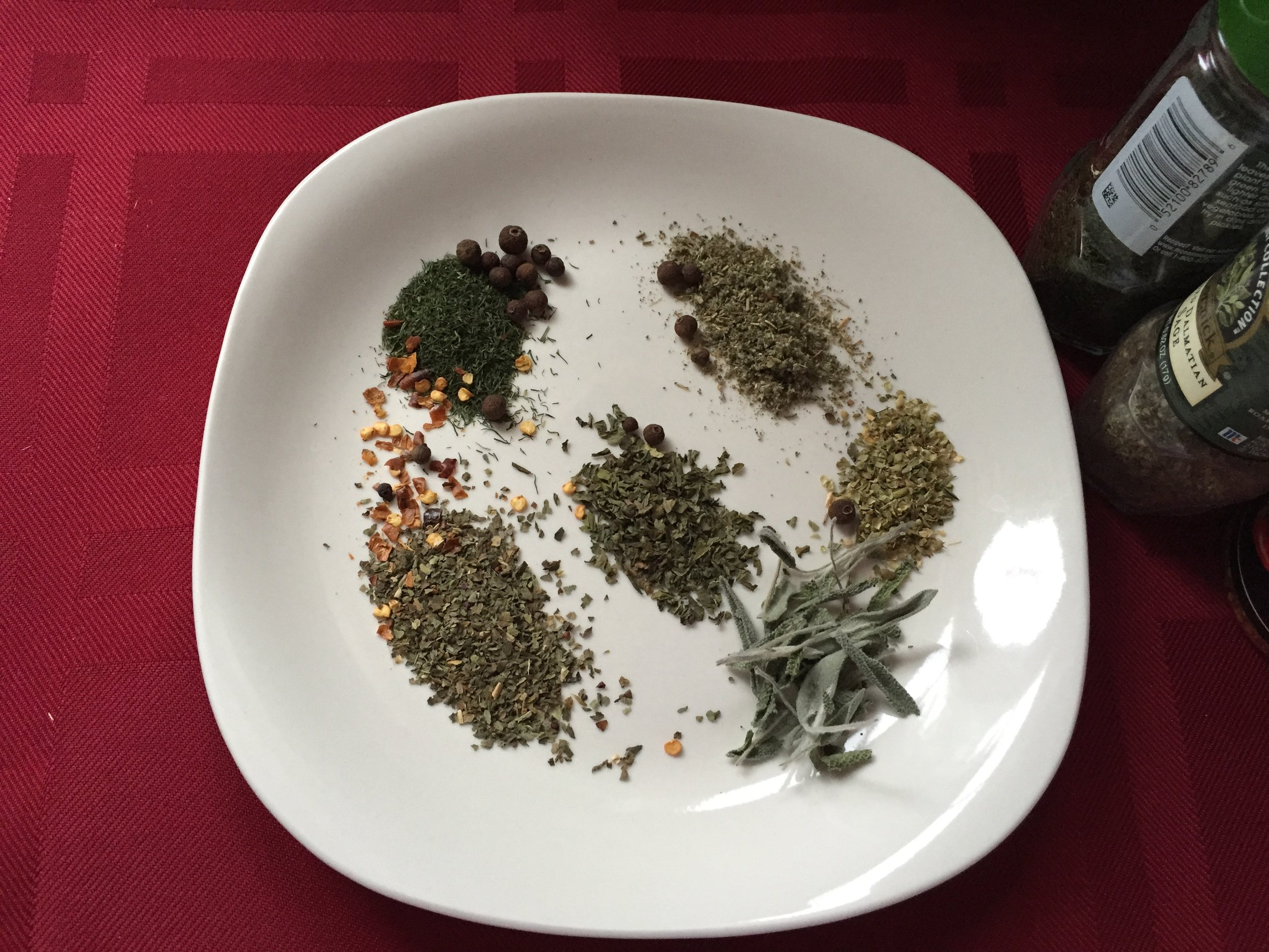 Mix and match herbs and spices for big taste with little sodium