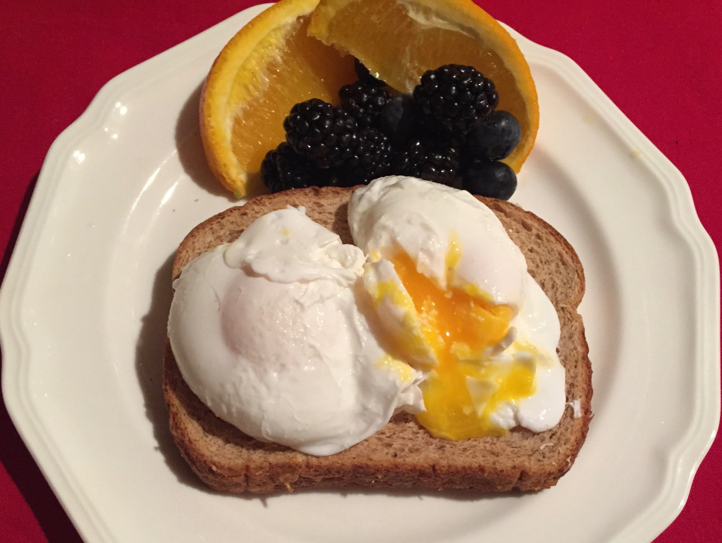 Simple Poached Eggs make an impressive and satisfying dish! What would brunch be without Eggs Benedict or omelets!