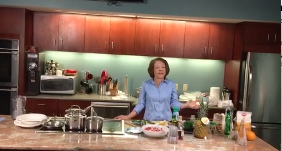 Healthy Eating Live! April 25, 2018 at RCTV Studios in Reading MA. A great group of participants enjoyed watching and eating the super delicious and nutritious meal! Fun was had by all