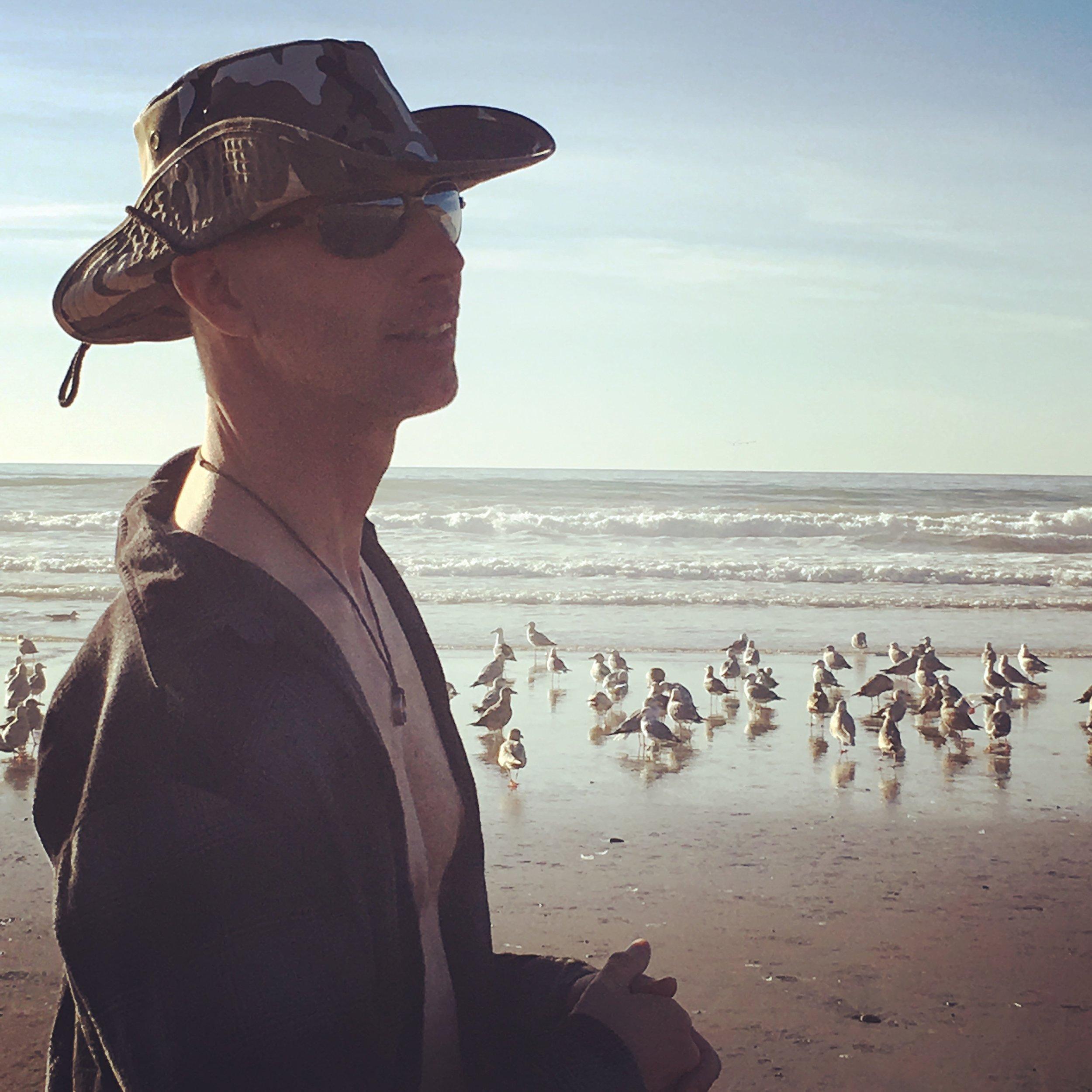 brennan with birds.JPG