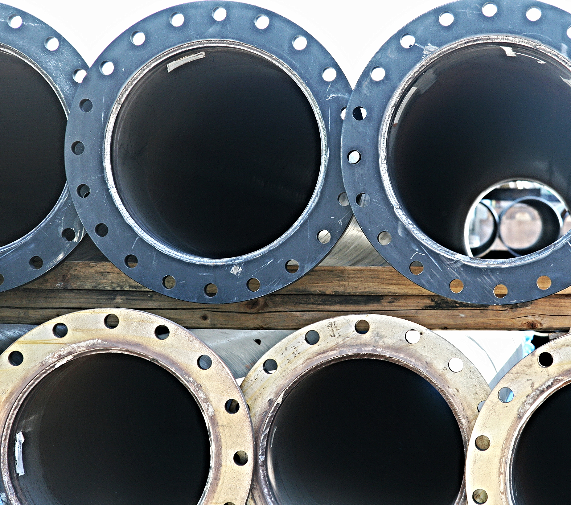 Prefabricated pipe completed at Boneso Brothers