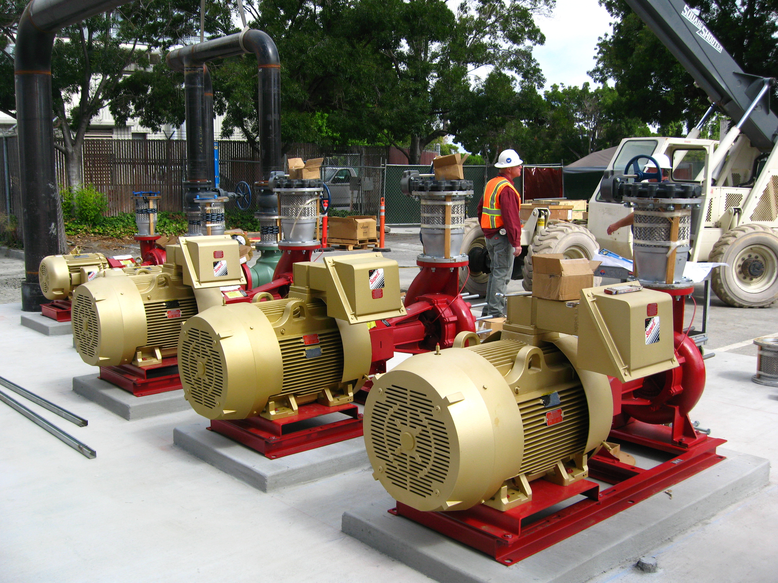 Hydronic Pumps at LMSS